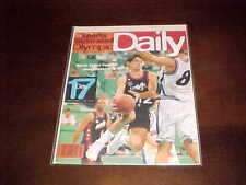 1996 Sports Illustrated Olympic Daily Program Basketball John Stockton Cover