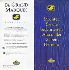 """Models of Yesteryear """"Grand Marques"""" Collection Prospekt"""