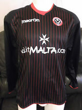 Sheffield United FC Black Away 2011/12 Shirt. Size Small