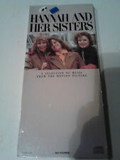 HANNAH AND HER SISTERS soundtrack cd LONGBOX**OFFICIAL**Woody Allen.&.film.movie