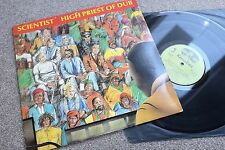 ♫ SCIENTIST HIGH PRIEST OF DUB UK 1982 KINGDOM  REGGAE LP LISTEN