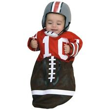 Football Bunting Costume Baby Ohio State Player Halloween Fancy Dress