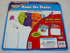 Wipe-Off Education Practice Boards ~ Basic Math & Social Studies ~ Active Minds