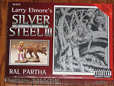 Ral Partha Larry Elmore's Silver and Steel III 10 Miniature Figures Set NIB