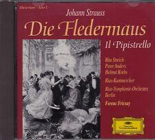 STRAUSS Die Fledermaus IL PIPISTRELLO Streich, Anders, Krebs, FERENC FRICSAY
