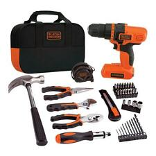 NEW Black & Decker LDX172PK 7.2-Volt Lithium-Ion Drill and Project Kit