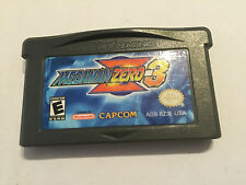 Mega Man Zero Z 3 Nintendo Game Boy Advance GBA SP MICRO Region Free US Version