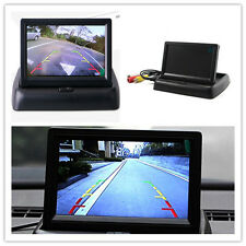 Foldable Car Reverse Rearview Parking 4.3'' TFT Color Monitor LCD Screen Display