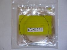 10-Pack of .010 Gauge High E-Strings for Electric Guitars