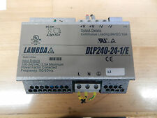 Siemens Lambda dlp240-24-1-e Power-supply 24vdc 10a -