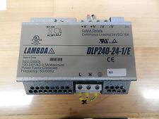 Siemens Lambda DLP240-24-1-E Power-Supply 24VDC 10A -