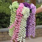 Artifical Hydrangea Silk Ivy Vine Flower Hanging Garland Wedding Home Decor 1Pc