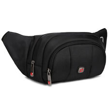New Design Swiss Gear Running Belt Bum Waist Pouch Hip Travel Pack Zip Sport Bag