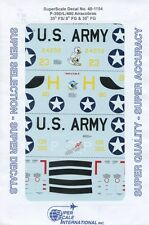 SuperScale Decals 1:48 P-39D/L/400 Airacobras 35th FS/8th FG&35th FG #48-1154