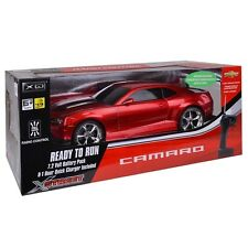 Chevrolet Camaro Electric R/C Car by Xstreet (Red) 1:10 Scale, Licensed 15+ inch