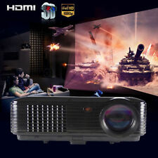 3500 Lumens LED Projector Home Theater USB TV 3D HD 1080P Business VGA/HDMI New