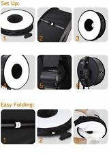 """Round Universal Collapsible Magnetic Ring Flash Diffuser Soft Box 45cm/18"""""""