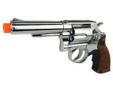Airsoft Gas Revolver Magnum METAL Automatic Pistol Shell HFC Gun Chrome HG-131C