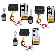 3x 12V 50ft Wireless Remote Control Switch Kit Fr Jeep/ATV/SUV Winch Warn Ramsey