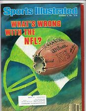 November 12, 1984 Sports Illustrated What's Wrong with the NFL Cover