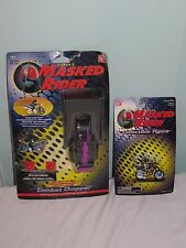 Bundle of 2 Saban's Masked Rider toys.Dash Racer Combat Chopper & figure.