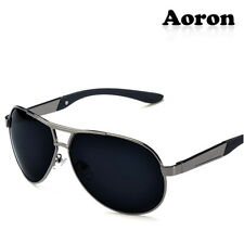 Polarized UV400 Aviator Sunglasses Driving Glasses Riding Sports Eyewear Goggles