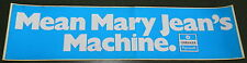 PLYMOUTH ROADRUNNER GTX CUDA DUSTER DEALER PROMO STICKER MEAN MARY JEAN BUMPER