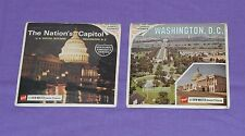 vintage WASHINGTON D.C. DC and THE NATION'S CAPITOL VIEW-MASTER REELS lot