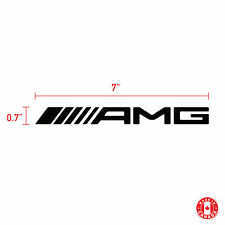 2X MERCEDES AMG sticker vinyl car decal
