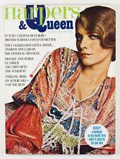 CHARLOTTE RAMPLING Ossie Clark TATLER CAFE Bill Gibb HARPERS & QUEEN Magazine UK