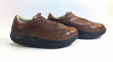 MBT Physiological Footware Volcano brown leather casual comfort oxford 9 1/2  43