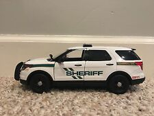 Carroll County Tennessee custom sheriff's diecast car Motormax 1:24 scale SUV