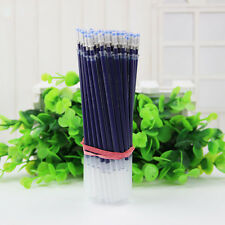10/50 PCS Ballpoint Pen Refills Gel Black Ink Writing Pens 3-Color 0.5MM Student