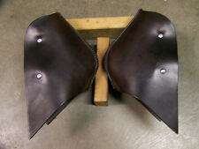 SADDLE TAPADEROS---THE ALL-AROUND---COMPLETE with STIRRUPS~~DARK BROWN COLOR