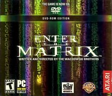 Enter The Matrix (DVD-ROM) jewel case Atari, Inc For PC Personal Computer
