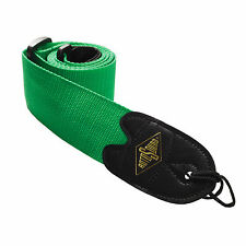 Guitar Strap by ROTOSOUND Quality Fabric  Guitar Strap  STR4 GREEN