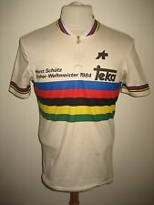 World champion RIDER WORN Steher weltmeister jersey shirt cycling trikot size L