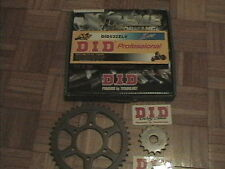 SUZUKI GSXR 1100 WS-WW 95-98 OEM X-RING DID 532ZLV Chain + Sprocket Kit GSXR1100