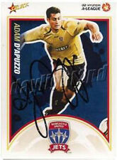 ✺Signed✺ 2009 2010 NEWCASTLE JETS A-League Card ADAM D'APUZZO