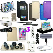 """19 in 1 Accessory Fish Eye Case Charger Earphones For iPhone 6 iPhone 6S 4.7"""""""