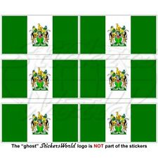 RHODESIA Rhodesian Flag 1968-1979 Mobile Cell Phone Vinyl Mini-Stickers 40mm x6