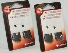 4 x NEW Subsonic PS3 Controller Triggers Pair 2-Packs Sony DualShock 3 & SixAxis