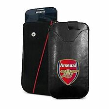 Arsenal Football Club Mobile Phone Smartphone PU Leather Pouch - Small Case