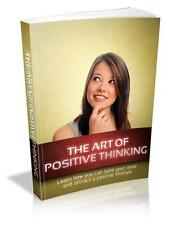 Art Of Positive Thinking Ebook On CD $5.95 Plus Resale Rights Free Shipping