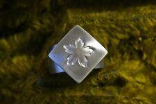 ♥♥♥  SOLO Blütenköpfchen in massiv 925 Silber für CHARLOTTE 21 ♥♥♥
