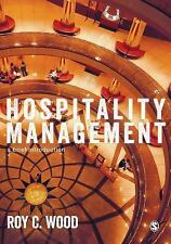 Hospitality Management : A Brief Introduction by Roy C. Wood (2015, Paperback)