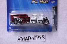 2005 Hot Wheels VARIATION smoked engine WAY 2 FAST moc 5SP pin hedz 4/5