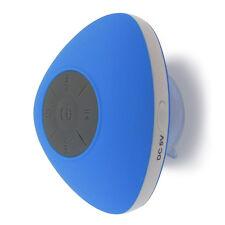 HotelSpa® Latest Design Blue Waterproof Bluetooth Shower Speaker