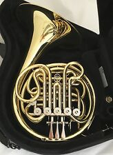 Mint Condition HANS HOYER Mod.4812 Full Triple French Horn F/Bb/high-F