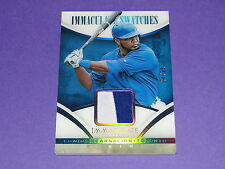 2014 Immaculate EDWIN ENCARNACION #34 Game Worn 2 color JSY/25 Toronto BLUE JAYS